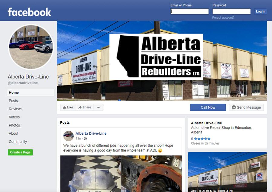 Alberta Driveline Rebuilders Ltd.