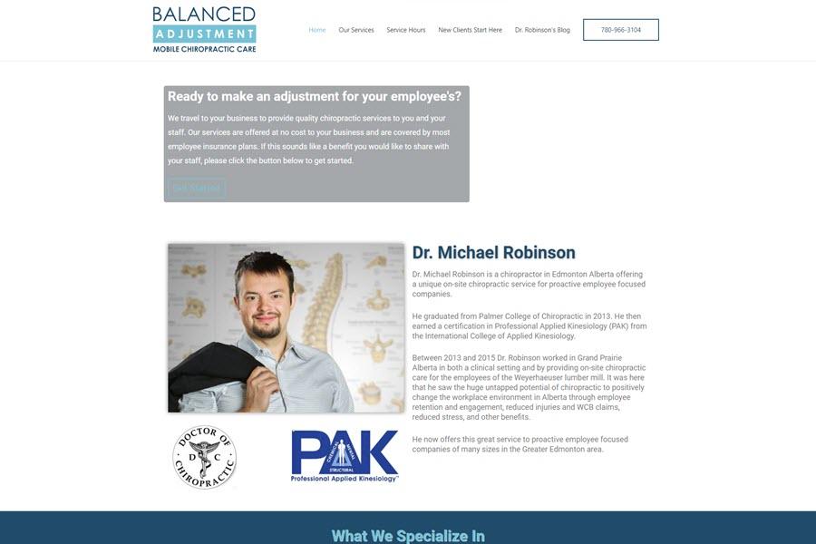 porfolio item 3 balanced adjustment