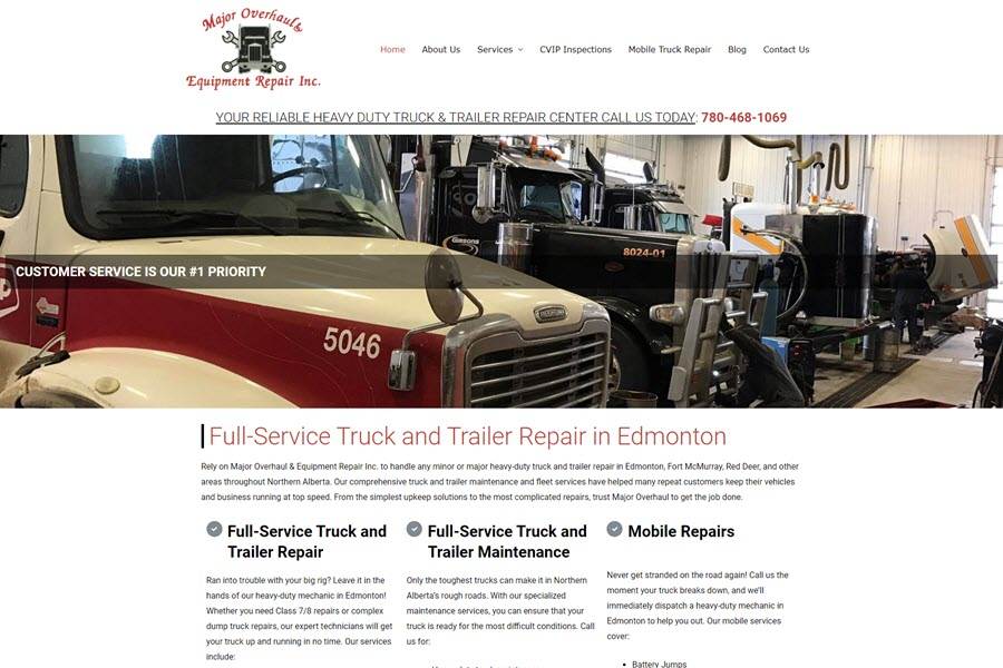 Major Overhaul Equipment & Repair Inc.